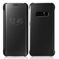 """Samsung Galaxy Note 8 6.3""""/ Note8 Duos: Coque Silicone gel rigide Livre rabat - NOIR"""