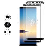 """Samsung Galaxy Note 8 6.3""""/ Note8 Duos: Lot/ Pack de 2 Films en Verre Trempé Bord Incurvé Resistant"""