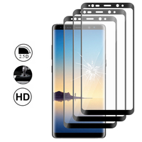 """Samsung Galaxy Note 8 6.3""""/ Note8 Duos: Lot/ Pack de 3 Films en Verre Trempé Bord Incurvé Resistant"""