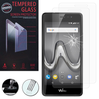 "Wiko Tommy 2 Plus 5.5"": Lot / Pack de 2 Films de protection d'écran Verre Trempé"