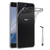 """Asus Zenfone 4 Pro ZS551KL 5.5"""": Accessoire Housse Etui Coque gel UltraSlim et Ajustement parfait + mini Stylet - TRANSPARENT"""
