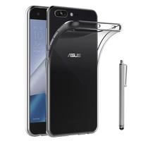 """Asus Zenfone 4 Pro ZS551KL 5.5"""": Accessoire Housse Etui Coque gel UltraSlim et Ajustement parfait + Stylet - TRANSPARENT"""