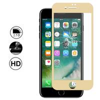 """Apple iPhone 7 Plus 5.5"""" (non compatible iPhone 7 4.7''): 1 Film en Verre Trempé Bord Incurvé Resistant"""
