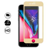 """Apple iPhone 8 4.7"""": 1 Film en Verre Trempé Bord Incurvé Resistant"""