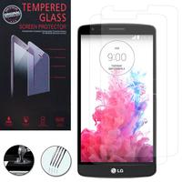 """LG G3 Stylus D690N/ LG D690 5.5"""": Lot / Pack de 2 Films de protection d'écran Verre Trempé"""