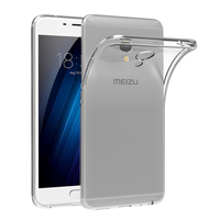 "Meizu M3E 5.5"": Accessoire Housse Etui Coque gel UltraSlim et Ajustement parfait - TRANSPARENT"