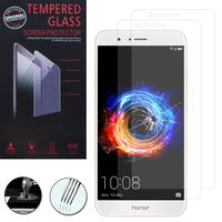 """Huawei Honor 8 Pro 5.7""""/ Honor V9: Lot / Pack de 2 Films de protection d'écran Verre Trempé"""