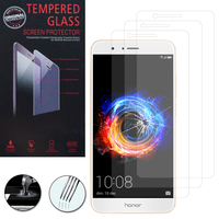 """Huawei Honor 8 Pro 5.7""""/ Honor V9: Lot / Pack de 3 Films de protection d'écran Verre Trempé"""