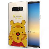 "Samsung Galaxy Note 8 6.3""/ Note8 Duos: Coque Housse silicone TPU Transparente Ultra-Fine Dessin animé jolie - Winnie the Pooh"