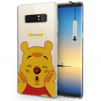 "Samsung Galaxy Note 8 6.3""/ Note8 Duos: Coque Housse silicone TPU Transparente Ultra-Fine Dessin animé jolie + mini Stylet - Winnie the Pooh"
