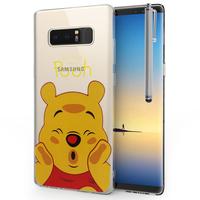 "Samsung Galaxy Note 8 6.3""/ Note8 Duos: Coque Housse silicone TPU Transparente Ultra-Fine Dessin animé jolie + Stylet - Winnie the Pooh"