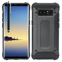 """Samsung Galaxy Note 8 6.3""""/ Note8 Duos: Coque Antichoc Etui Housse Neo Hybrid carbone + Stylet - NOIR"""