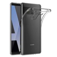 """Huawei Mate 10 Pro 6.0"""" BLA-L09/ L29/ AL00 (non compatible Mate 10 5.9""""): Accessoire Housse Etui Coque gel UltraSlim et Ajustement parfait - TRANSPARENT"""