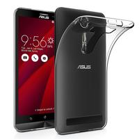 """Asus Zenfone 2 Laser ZE600KL/ ZE601KL 6.0"""": Accessoire Housse Etui Coque gel UltraSlim et Ajustement parfait - TRANSPARENT"""