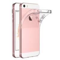 Apple iPhone 5/ 5S/ SE: Accessoire Housse Etui Coque gel UltraSlim et Ajustement parfait - TRANSPARENT