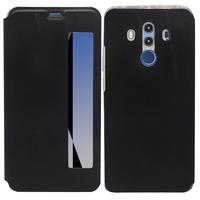 "Huawei Mate 10 Pro 6.0"" BLA-L09/ L29/ AL00 (non compatible Mate 10 5.9""): Etui View Case Flip Folio Leather cover - NOIR"