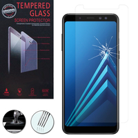 "Samsung Galaxy A8+/ A8 Plus (2018) A730F 6.0""/ A8+ (2018) Duos A730F/DS: 1 Film de protection d'écran Verre Trempé"