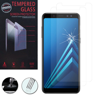 "Samsung Galaxy A8+/ A8 Plus (2018) A730F 6.0""/ A8+ (2018) Duos A730F/DS: Lot / Pack de 2 Films de protection d'écran Verre Trempé"