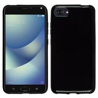 "Asus Zenfone 4 Max/ Max Pro/ Max Plus ZC554KL 5.5"" (non compatible Zenfone 4 Max ZC520KL 5.2""): Housse Coque TPU Silicone Gel Souple Translucide Ultra Fine - NOIR"