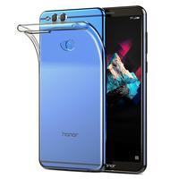 """Huawei Honor 7X 5.93"""" BND-L21/ L22/ L24/ AL10/ TL10: Accessoire Housse Etui Coque gel UltraSlim et Ajustement parfait - TRANSPARENT"""