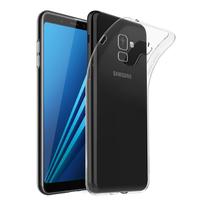 """Samsung Galaxy A8+/ A8 Plus (2018) A730F 6.0""""/ A8+ (2018) Duos A730F/DS: Accessoire Housse Etui Coque gel UltraSlim et Ajustement parfait - TRANSPARENT"""