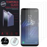 """Samsung Galaxy S8+/ Galaxy S8 Plus 6.2"""" (non compatible Galaxy S8 5.8""""): Lot / Pack de 3 Films de protection d'écran Verre Trempé"""