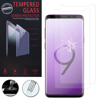 "Samsung Galaxy S9+/ S9 Plus 6.2"": Lot / Pack de 2 Films de protection d'écran Verre Trempé"