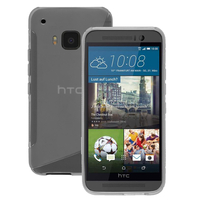 HTC One M9/ HTC One Hima/ One M9s: Accessoire Housse Etui Pochette Coque S silicone gel - TRANSPARENT