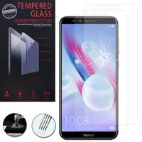 """Huawei Honor 9 Lite 5.65""""/ AL00/ AL10/ TL10/ Honor 9 Youth Edition: Lot / Pack de 2 Films de protection d'écran Verre Trempé"""