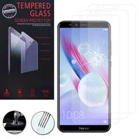 """Huawei Honor 9 Lite 5.65""""/ AL00/ AL10/ TL10/ Honor 9 Youth Edition: Lot / Pack de 3 Films de protection d'écran Verre Trempé"""