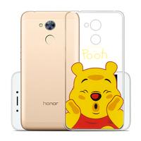 "Huawei Honor 6A 5.0"": Coque Housse silicone TPU Transparente Ultra-Fine Dessin animé jolie - Winnie the Pooh"