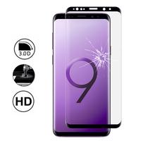 """Samsung Galaxy S9 5.8"""": 1 Film en Verre Trempé Bord Incurvé Resistant"""