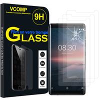 """Nokia 8 Sirocco 5.5"""" (non compatible Nokia 8 5.3""""): Lot / Pack de 3 Films de protection d'écran Verre Trempé"""