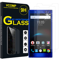 "OUKITEL K3 4G 5.5"": Lot / Pack de 2 Films de protection d'écran Verre Trempé"