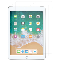 Apple iPad 9.7 (2018): Lot / Pack de 2x Films de protection d'écran clear transparent