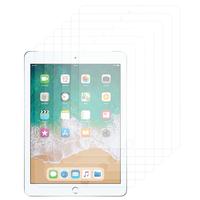 Apple iPad 9.7 (2018): Lot / Pack de 6x Films de protection d'écran clear transparent