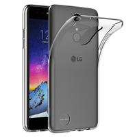 """LG K8 (2017) 5.0"""" M200N/ X240/ US215: Accessoire Housse Etui Coque gel UltraSlim et Ajustement parfait - TRANSPARENT"""
