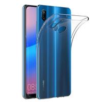 """Huawei P20 Lite/ Nova 3e 5.84"""" (non compatible Huawei P20/ P20 Pro): Accessoire Housse Etui Coque gel UltraSlim et Ajustement parfait - TRANSPARENT"""