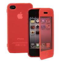 Apple iPhone 4/ 4S/ 4G: Accessoire Coque Etui Housse Pochette silicone gel Portefeuille Livre rabat - ROSE