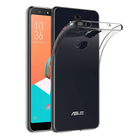 """Asus Zenfone 5 Lite ZC600KL 6.0"""" (2018): Accessoire Housse Etui Coque gel UltraSlim et Ajustement parfait - TRANSPARENT"""