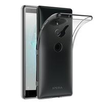 """Sony Xperia XZ2 5.7"""" H8216 H8266 H8296 (Sony PF22) (non compatible Xperia XZ2 Compact 5.0""""): Accessoire Housse Etui Coque gel UltraSlim et Ajustement parfait - TRANSPARENT"""