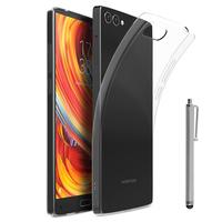 "Homtom S9 Plus 4G 5.99"": Accessoire Housse Etui Coque gel UltraSlim et Ajustement parfait + Stylet - TRANSPARENT"