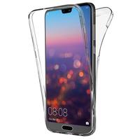 """Huawei P20 Pro 6.1"""" (non compatible Huawei P20/ P20 Lite): Coque Housse Silicone Gel TRANSPARENTE ultra mince 360° protection intégrale Avant et Arrière - TRANSPARENT"""