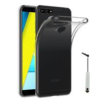 """Huawei Honor 7A (2018) 5.7"""": Accessoire Housse Etui Coque gel UltraSlim et Ajustement parfait + mini Stylet - TRANSPARENT"""