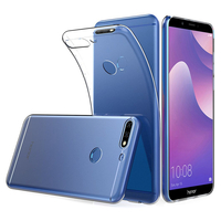 """Huawei Y7 Prime (2018) 5.99""""/ Nova 2 Lite: Accessoire Housse Etui Coque gel UltraSlim et Ajustement parfait - TRANSPARENT"""