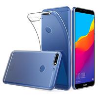 """Huawei Y7 Pro (2018) 5.99"""": Accessoire Housse Etui Coque gel UltraSlim et Ajustement parfait - TRANSPARENT"""