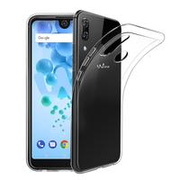 """Wiko View2 Pro 6.0"""" (non compatible Wiko View 2 6.0""""): Accessoire Housse Etui Coque gel UltraSlim et Ajustement parfait - TRANSPARENT"""