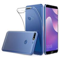 """Huawei Y7 (2018) 5.99"""" (non compatible Huawei Y7 5.5"""" 2017): Accessoire Housse Etui Coque gel UltraSlim et Ajustement parfait - TRANSPARENT"""