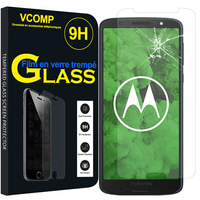 "Motorola Moto G6 Plus 5.9"" (non compatible G6/ G6 Play 5.7"")Motorola Moto G6 Plus 5.9"": 1 Film de protection d'écran Verre Trempé"