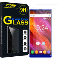 "OUKITEL Mix 2 4G 5.99"": Lot / Pack de 2 Films de protection d'écran Verre Trempé"